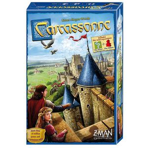Factory Sealed Carcassonne Strategy Board Game like Settlers of Catan a tile-based German-style board game for two to five players for Sale in Pomona, CA