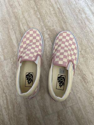 Brand new Pink Checkered Vans for Sale in Virginia Beach, VA