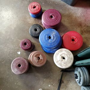 Sand Weights For 1 Inch Barbells for Sale in Aberdeen, WA