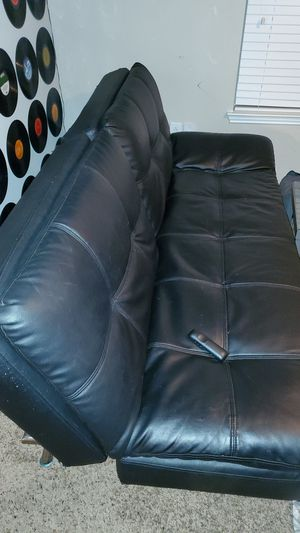 Leather wayfair futon for Sale in Lawrenceville, GA