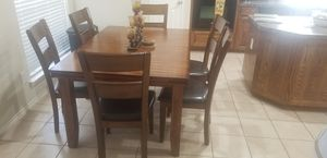 Wood Dining Table for Sale in Arlington, TX