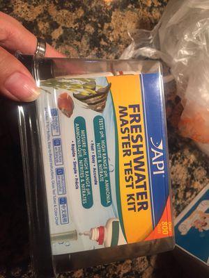 Aquarium water test kit for Sale in Washington, DC