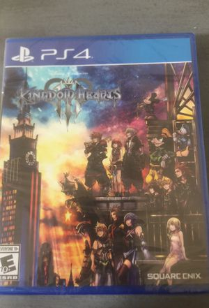 Kingdom Hearts 3 for Sale in San Bernardino, CA