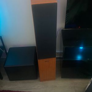 Fluacne 5 Peice Surround. Old School, Classic , Great Sound for Sale in North Tustin, CA