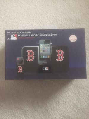 Portable Idock Stereo System (Red Sox) for Sale in Salem, MA