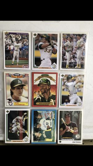 Oakland A's Cards for Sale in Pomona, CA
