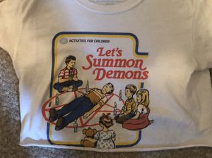 Let's Summon Demons Wicked Clothes crop top for Sale in Middleburg, FL
