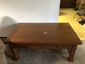 Mission Style Gaming Coffee Table and End Table for Sale in Port Orchard, WA