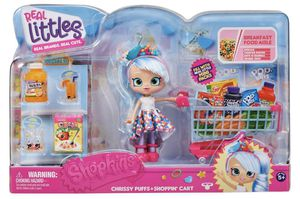 Shopkins Real Littles Chrissy Puffs Shoppie Doll+ Shoppi' Cart for Sale in Murrieta, CA