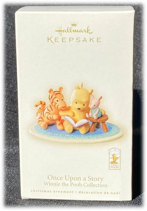 Hallmark Keepsake Classic Pooh Christmas Ornament 2008 Once Upon A Story for Sale in Moreno Valley, CA