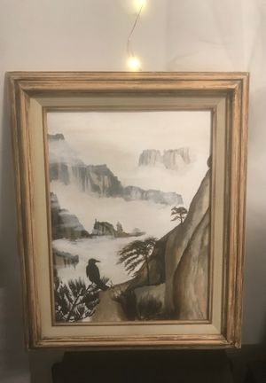 Handpainted Framed Original Painting for Sale in Pittsburgh, PA