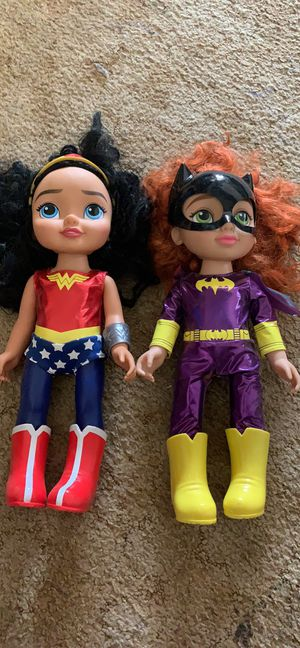 Superhero toys for Sale in Byron, CA
