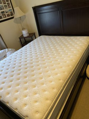 Bed frame + mattress + box spring for Sale in San Diego, CA