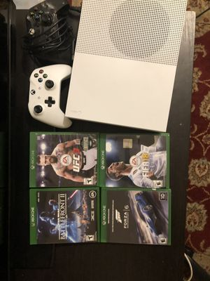 Xbox One S with UFC 3 plus more for Sale in Rockville, MD