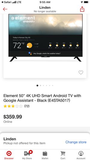 Brand new 50 inch 4K tv smart tv for Sale in Elizabeth, NJ