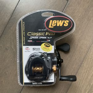 Lew's Classic Pro CP1SH Speed Spool SLP Baitcasting Fishing Reel - RH BRAND NEW!!! for Sale in Stanwood, WA