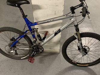 K2 Full Suspension Cross Country Mountain Bike for Sale in Brookline,  MA