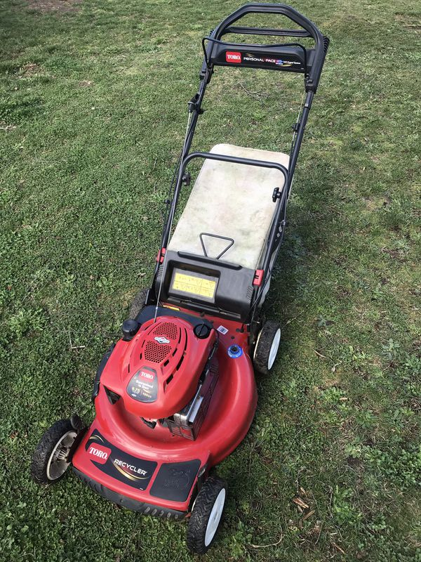 Toro Recycler  22 U0026quot   190cc Personal Pace Lawn Mower W   Blade Override For Sale In Vancouver  Wa