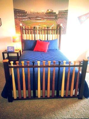 Boys full size baseball bedroom set for Sale in D'Iberville, MS