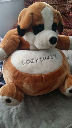Cozy teddy chair for kids for Sale in Newark, NJ