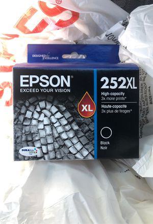 Epson 252XL Black ink for Sale in Sacramento, CA