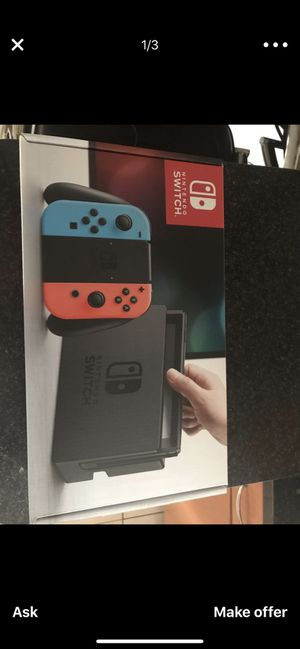 bd8d36dfdeae4 Nintendo switch with let go Pokémon for Sale in Pompano Beach