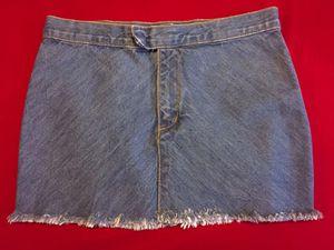 Earl Jean Denim Mini-Skirt, Size Medium for Sale in Las Vegas, NV