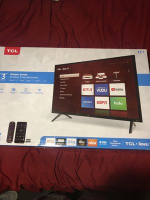 New TCL Roku TV for Sale in Houston, TX