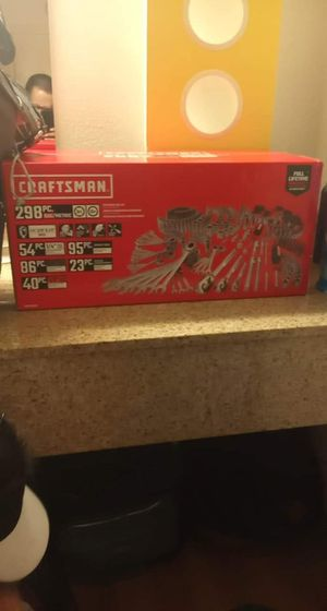 Craftsman wrench set 298 piece set for Sale in Tempe, AZ