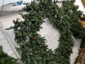 Artificial pre-lit Christmas Wreath decorations for Sale in Billings, MT