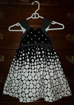 Girls Black and white Polka Dotted Dress for Sale in Winter Haven, FL