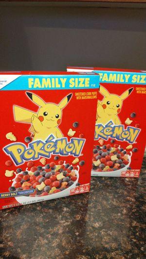 Pokemon cereal for Sale in Fontana, CA