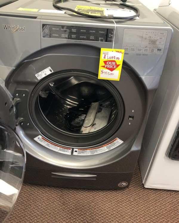 Whirlpool Washer 🙈✔️⚡️⏰🍂🔥😀🙈✔️⚡️⏰🍂🔥😀🙈✔️⚡️⏰ Appliance Liquidation!!!!!!!! W8N
