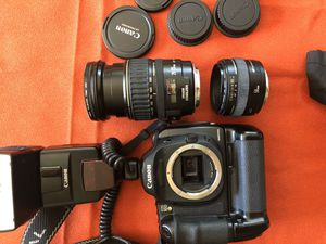 Canon digital camera set with lens for Sale in Jacksonville, FL
