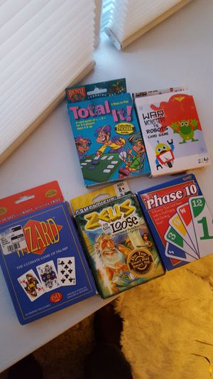 Kids card games for Sale in Taylor, MI