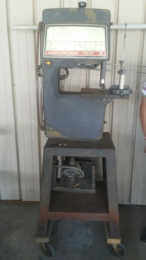 Sears Craftsman Band saw with blades for Sale in Pineville, LA