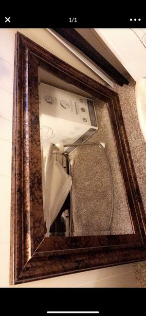 Wall mirror 34L and 46W for Sale in Aurora, CO