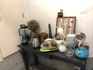 Household items, appliances and decor for Sale in Kenmore, WA
