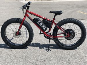 Fat Tire electric bike 1000W 48V for Sale in Columbus, OH