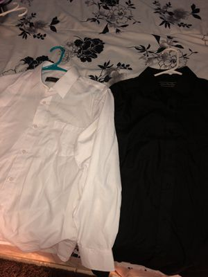 Black And White Dress Shirts For Kids for Sale in Germantown, MD