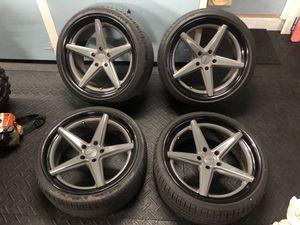 """Vossen vws-3 work wheels bmw fitment 20"""" 5x120 for Sale in Miami, FL"""