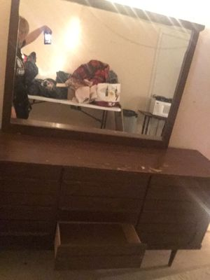 Wood dresser for Sale in Columbus, OH