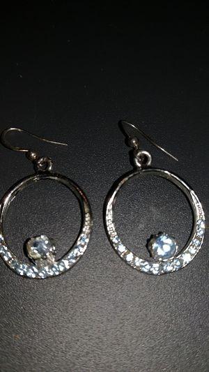 Blue diamond earrings. for Sale in Trout Run, PA