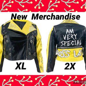 Yellow & Black Jacket for Sale in Virginia Beach, VA