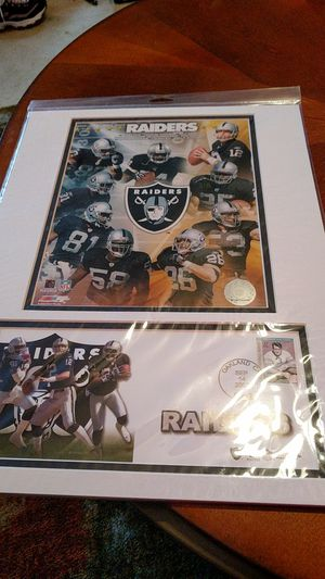 Raiders matted photo for Sale in Bangor, ME