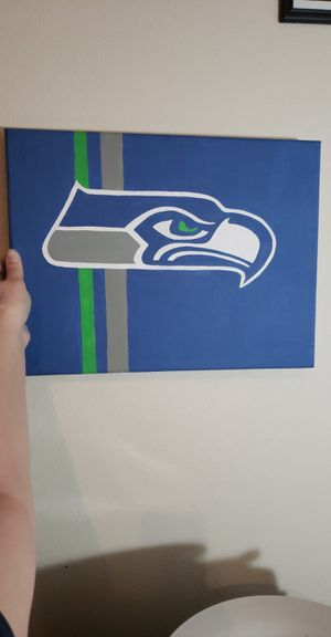 Seahawks painting for Sale in Kent, WA