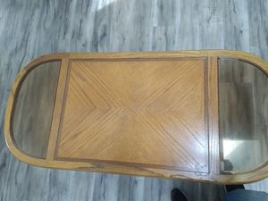 Wooden coffee table for Sale in Tacoma, WA