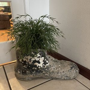 Decorative Boot For A Plant for Sale in Artesia, CA