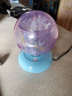 Tinkerbell rotating night light for Sale in Garden Grove, CA