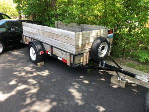 Trailer Tire clean new tires or the lien perfect condition for Sale in Wheaton, MD